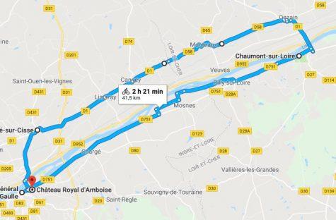 Parcours Amboise-Chaumont